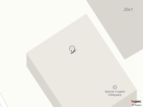 Сёмушка на карте Анапы