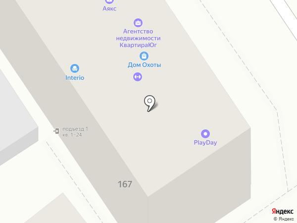 Эдем Decor на карте Анапы