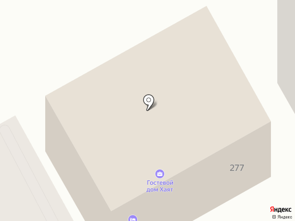Хаят на карте Анапы