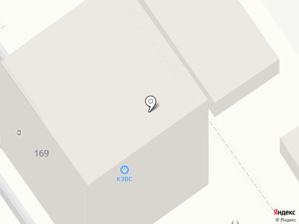 Дом охоты на карте Анапы