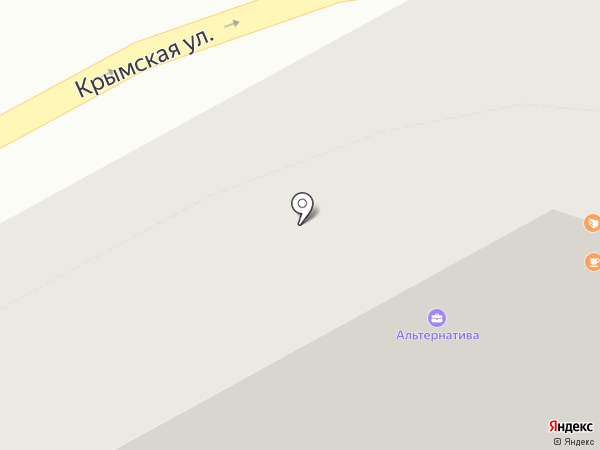 ЭОС на карте Анапы