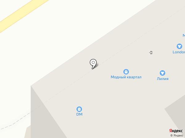Дриада на карте Анапы