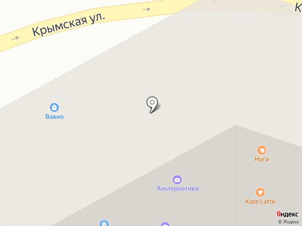 Альтернатива на карте Анапы