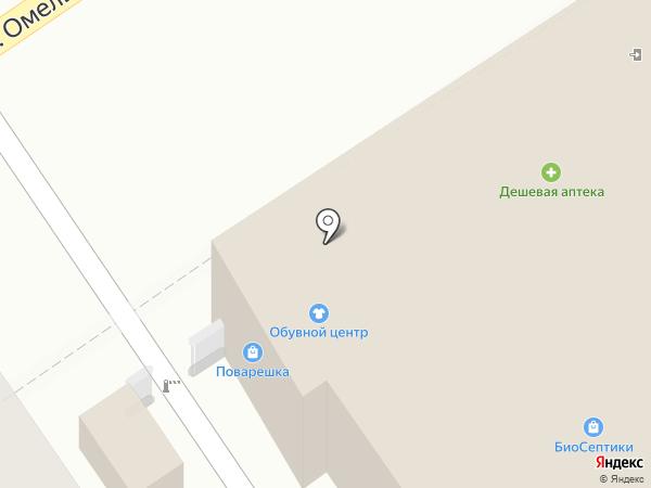 Анапа-Престиж на карте Анапы