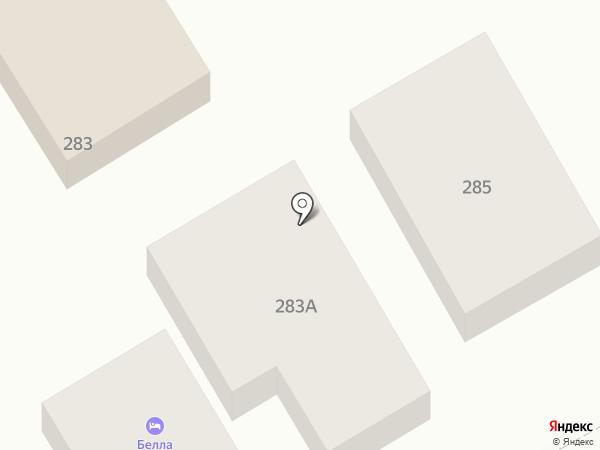 Бэлла на карте Анапы