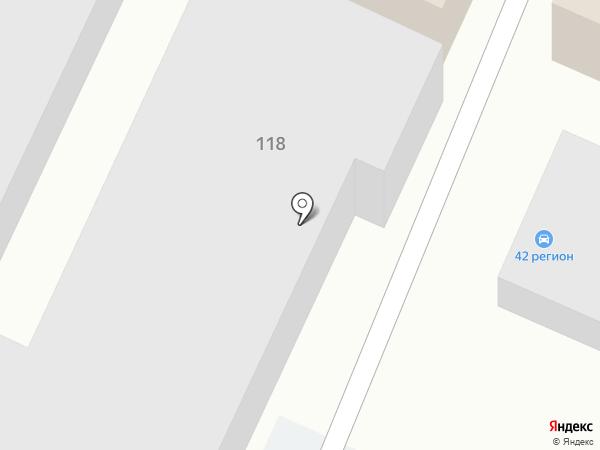 Юг-Стройкомплект на карте Анапы