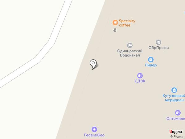 Светлояр на карте Трехгорки