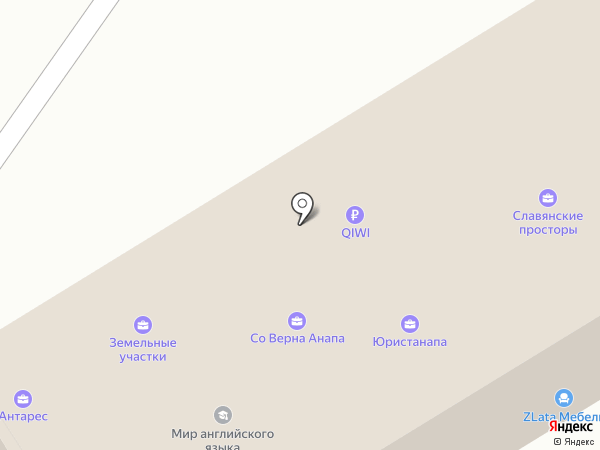 Центр мебели на карте Анапы
