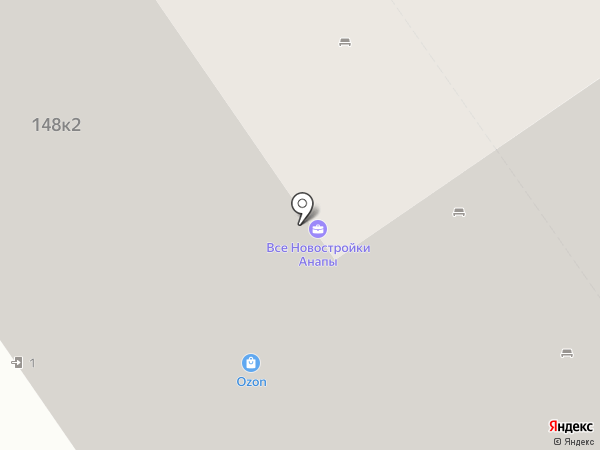Адмирал на карте Анапы