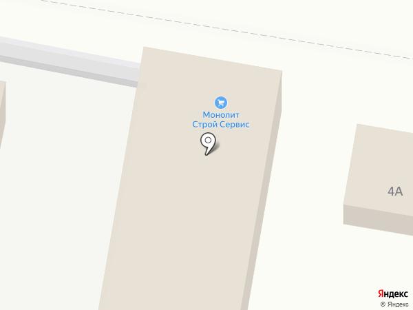 Магазин автозапчастей для КАМАЗ на карте Анапы