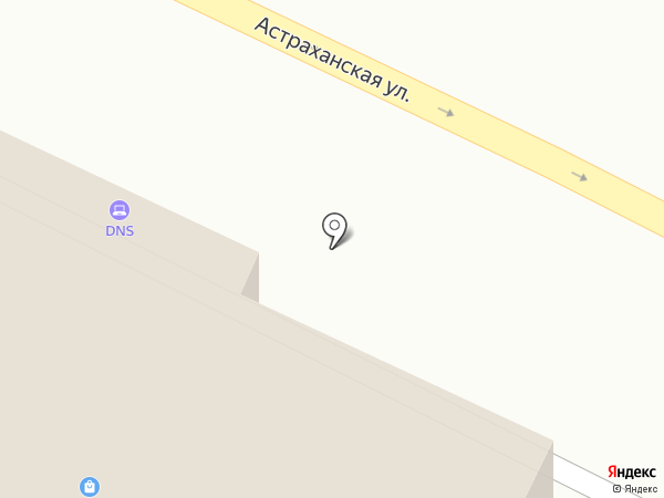 THE ONE на карте Анапы