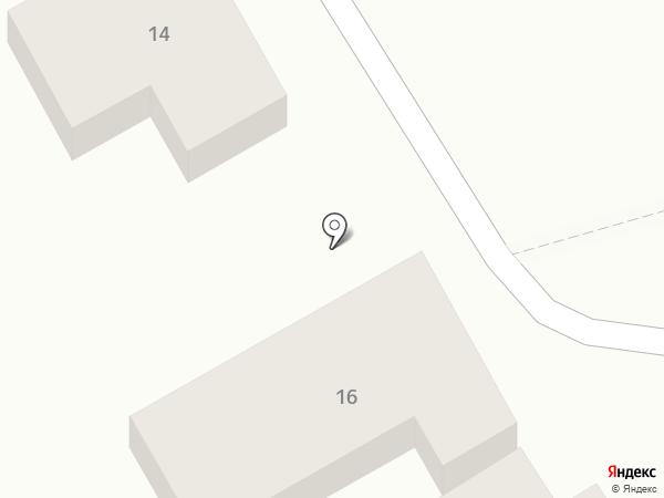 Одеон на карте Анапы