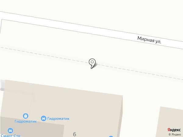 ЮМК на карте Анапы