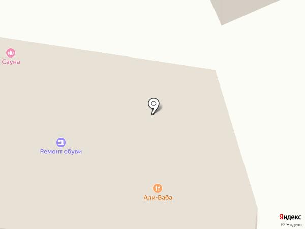 Заря на карте Анапы
