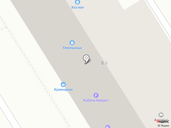 Сто квадратов на карте Анапы