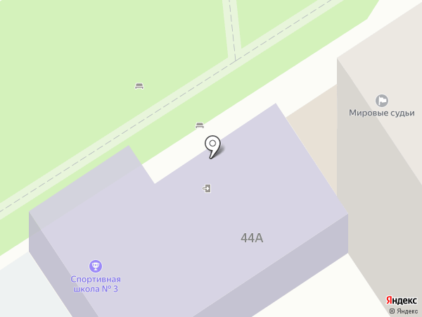Мировые судьи города-курорта Анапа на карте Анапы