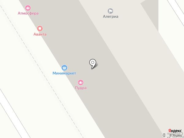 Краснов на карте Анапы