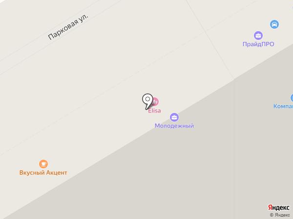Илион на карте Анапы