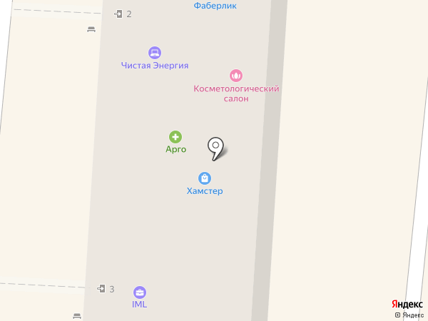 Алексстрой на карте Анапы