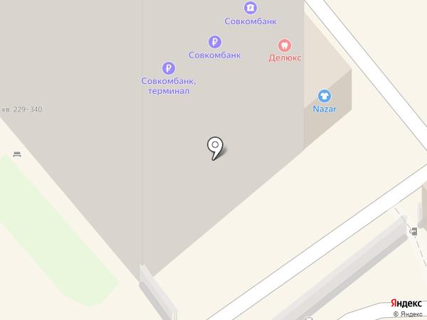 Актау на карте Анапы