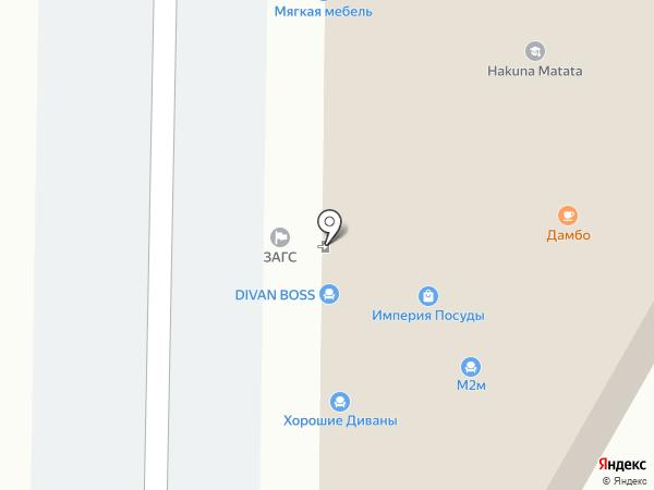 Букет легко на карте Анапы