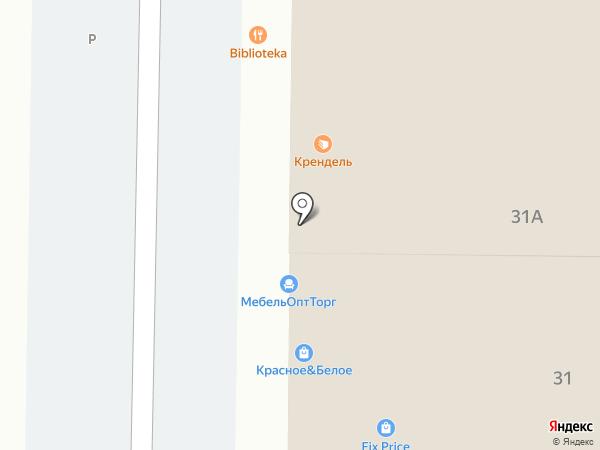 Магазин штор и карнизов на карте Анапы