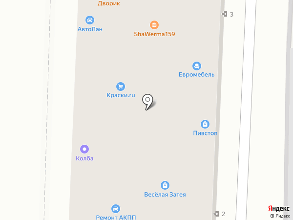 ДверьГрадъ на карте Анапы