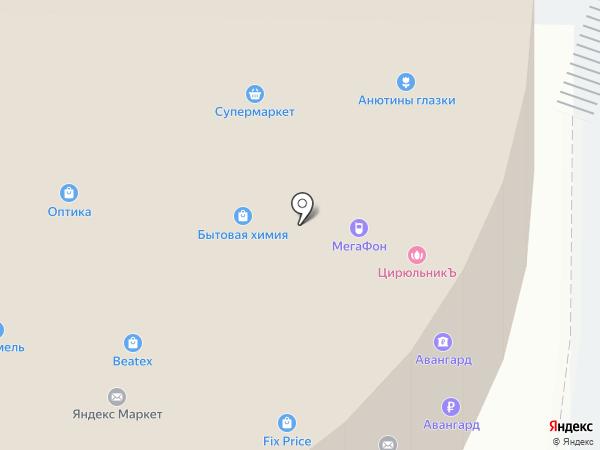 Виктория на карте Красногорска