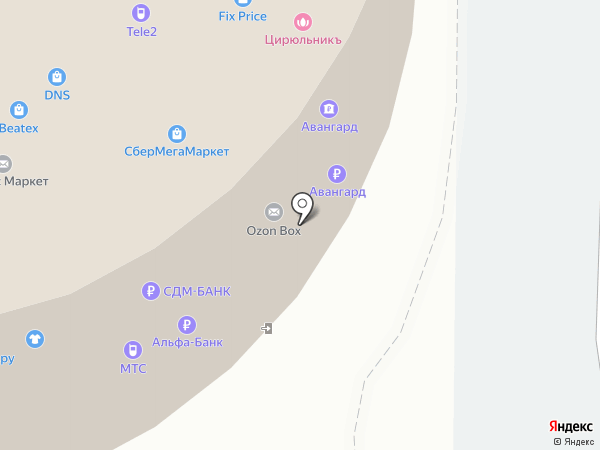 Selin на карте Красногорска