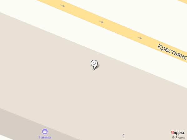 Дом Мебели на карте Анапы