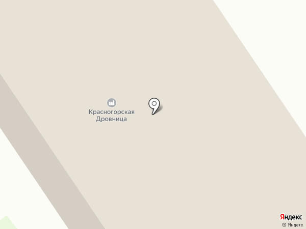 РусКорТрейд на карте Красногорска