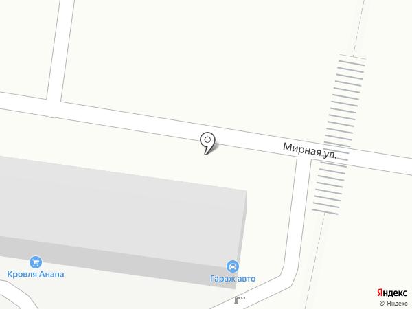 Garage-avto на карте Анапы