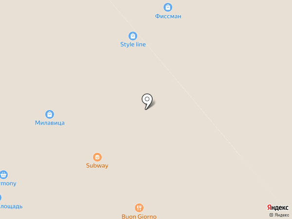 Buon giorno на карте Анапы