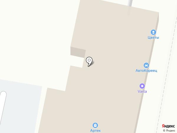 Ампер на карте Анапы
