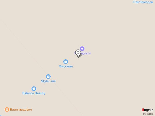 Баскин Роббинс на карте Анапы