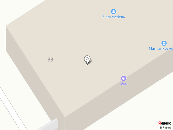 Магазин деталей для ГАЗ на карте Анапы