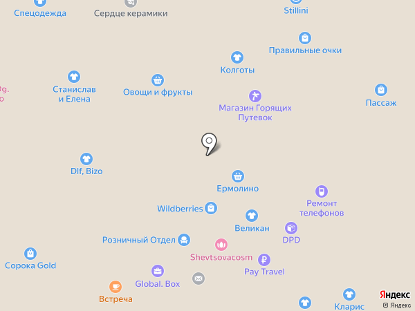 Куриная страна на карте Красногорска