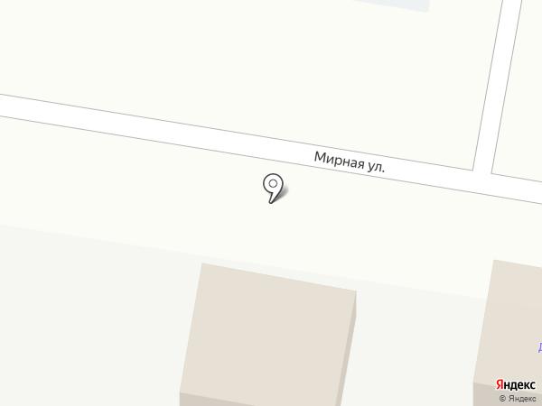 Твердый знак на карте Анапы