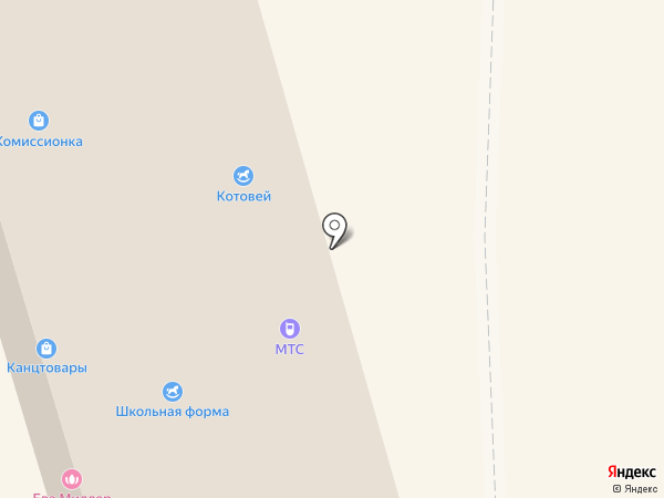 Котофей на карте Красногорска