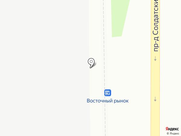 На Восточном на карте Анапы