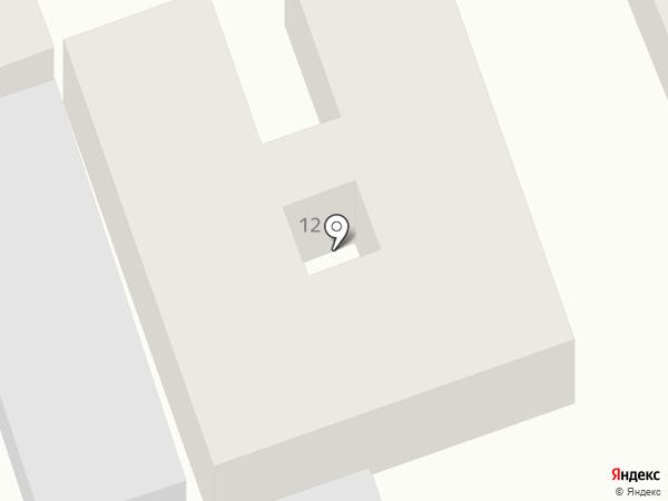 Де Марко на карте Анапы
