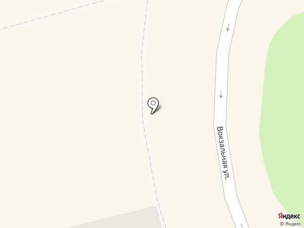 Киоск по продаже хлебобулочных изделий на карте Красногорска