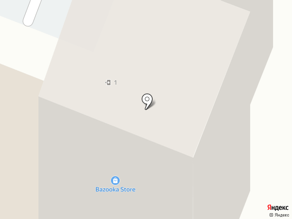 Лазурный на карте Анапы