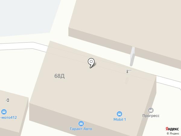 Газмонтаж на карте Анапы