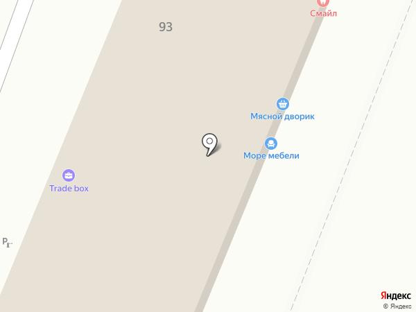 Каневской на карте Анапы