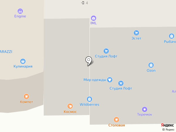 Волховец на карте Анапы