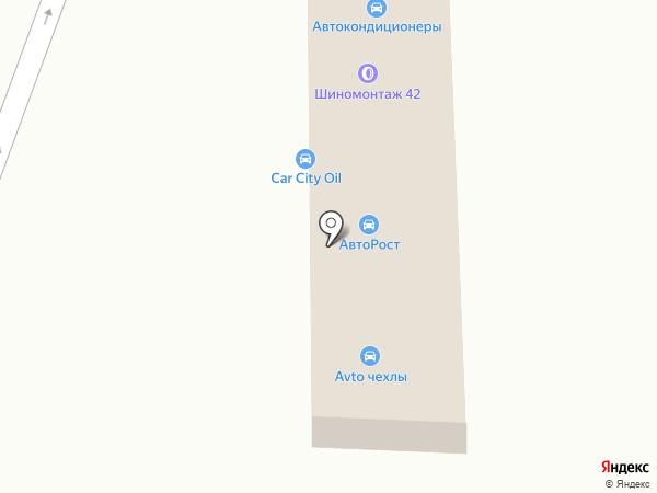 Авторост на карте Анапы