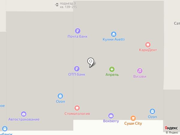 Титул на карте Анапы
