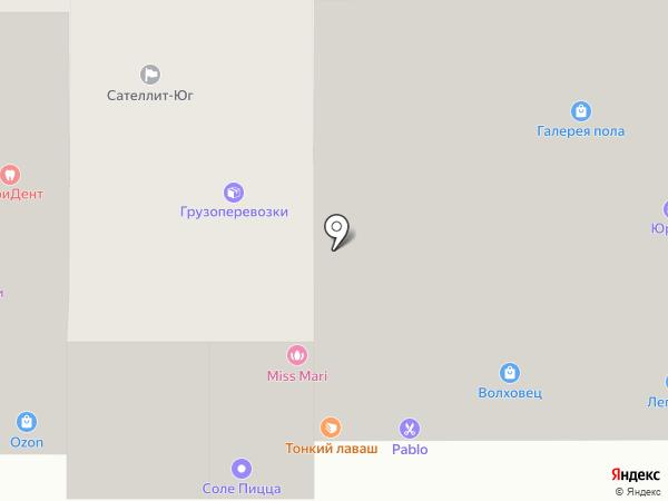 SG на карте Анапы