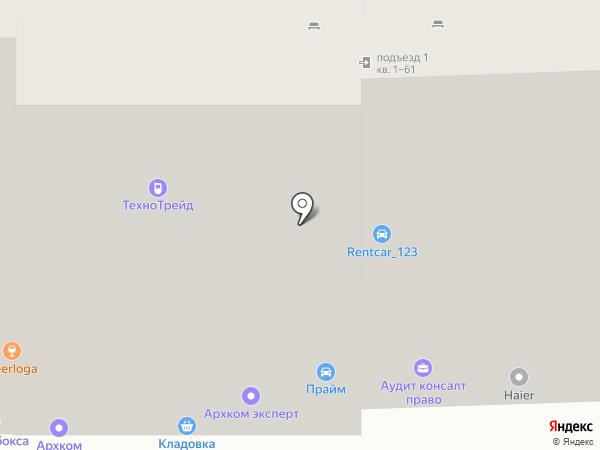 Салон лепных декоров на карте Анапы